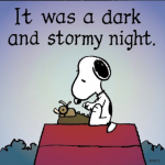 Column #290 It was a Dark and Stormy Night