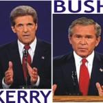 Column #157 THE BIG MATCH: Bush versus Kerry!!!