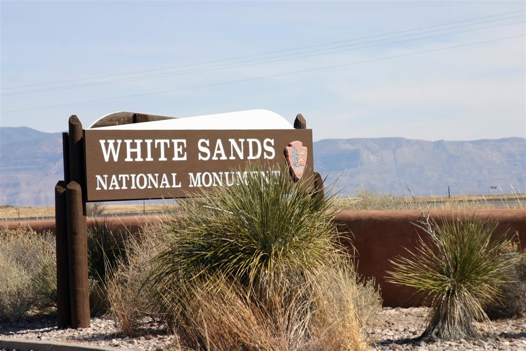 parc national white sands
