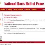 Column #97 National Darts Hall of Fame!