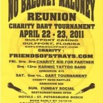 "Column #399 The ""No Baloney"" Maloney Reunion Charity Dart Tournament"