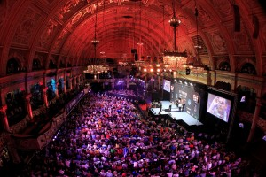 BET VICTOR WORLD MATCHPLAY CHAMPIONSHIPWINTER GARDENS,BLACKPOOLPIC;LAWRENCE LUSTIGROUND 2RAYMOND VAN BARNEVELD V JUSTIN PIPEGENERAL VIEW