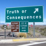 Column #HR164  Truth and Consequences