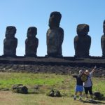 Column #517  Darts on Easter Island?