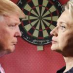 Column #524  Clinton or Trump: Who do you pick for your darts team?