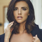 April 2019 Double Out Shot: Lucy Mecklenburgh